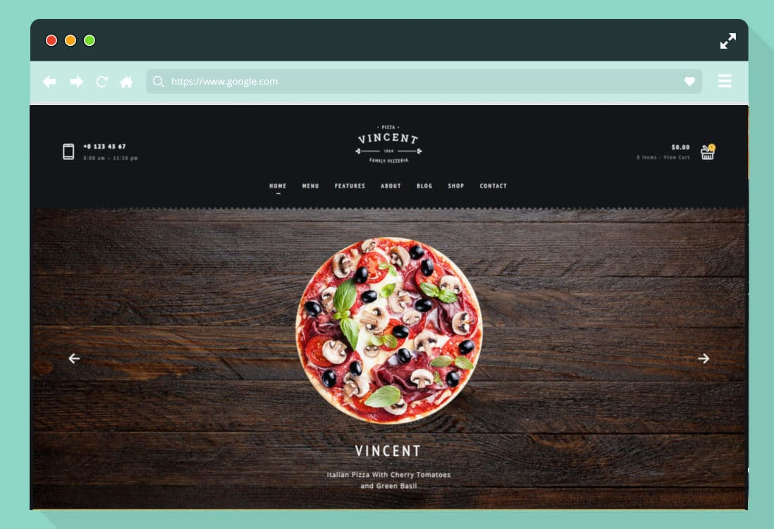 html-food-website-templates