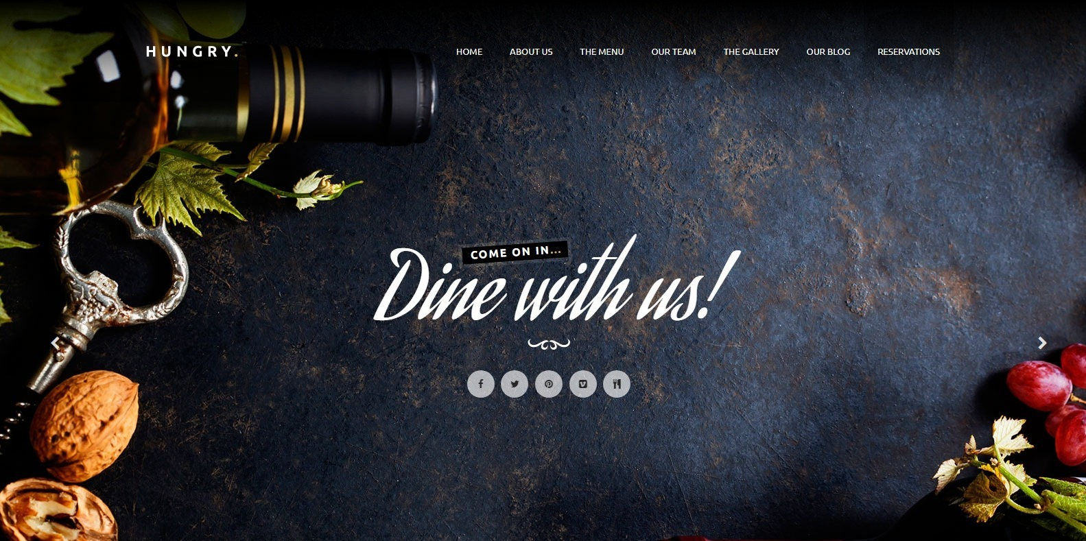 hungry-food-blog-website-template