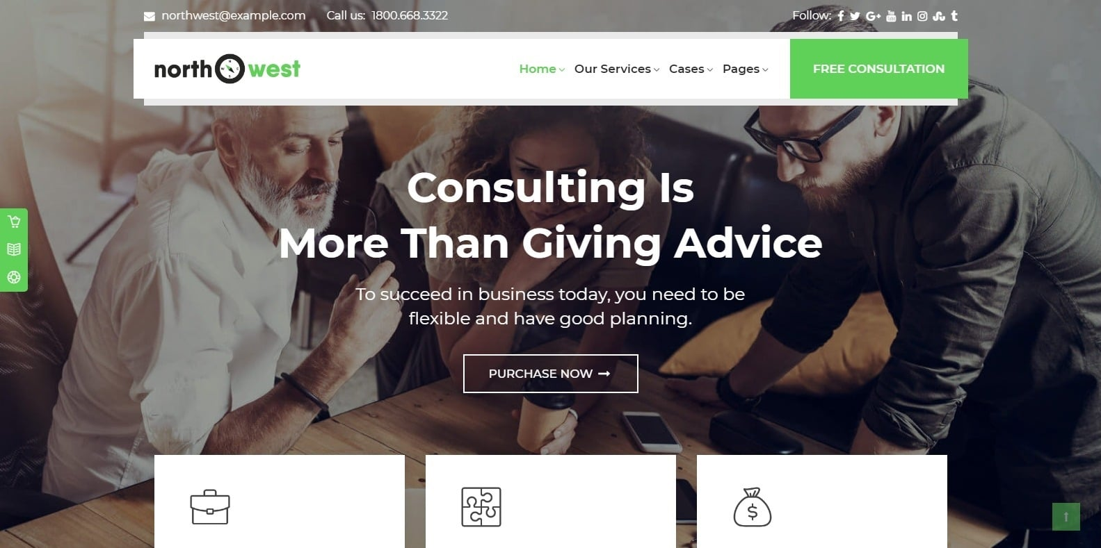 north-west-consulting-website-template