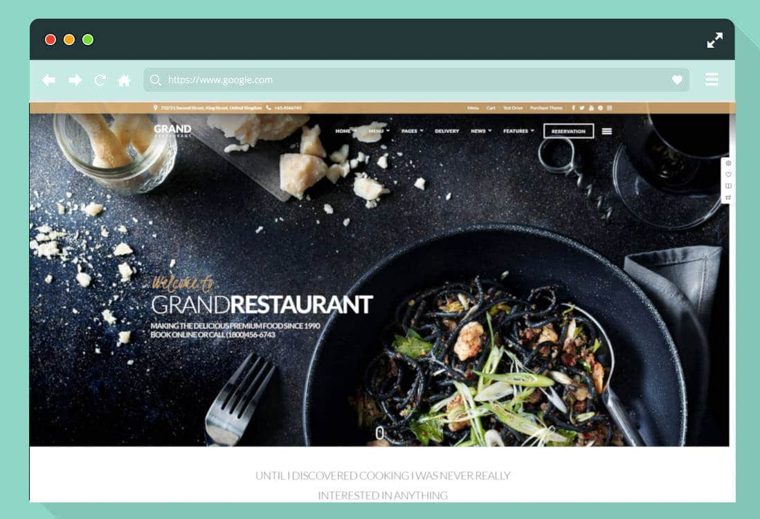 restaurant website templates featured image