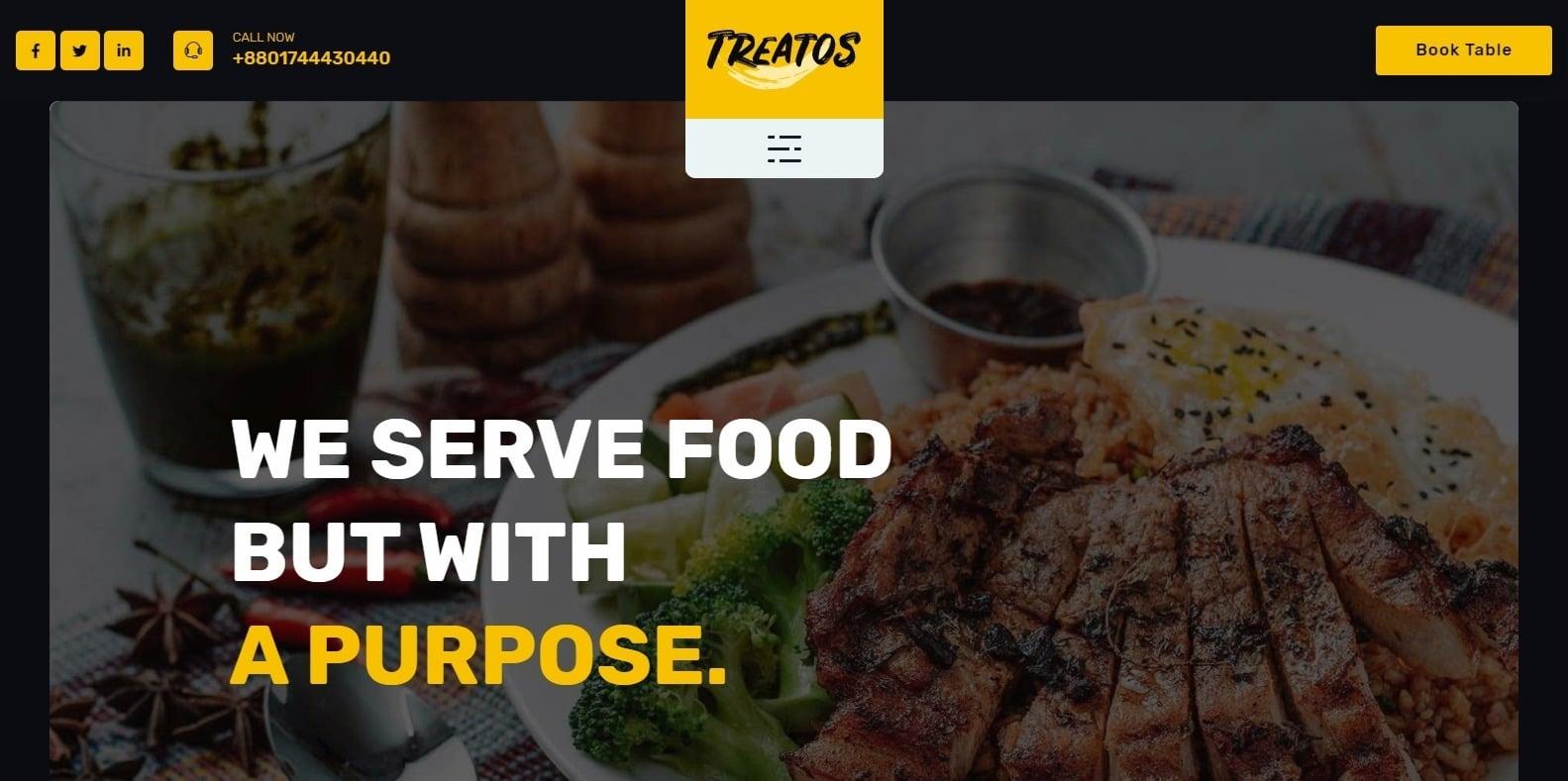 treatos-restaurant-website-template