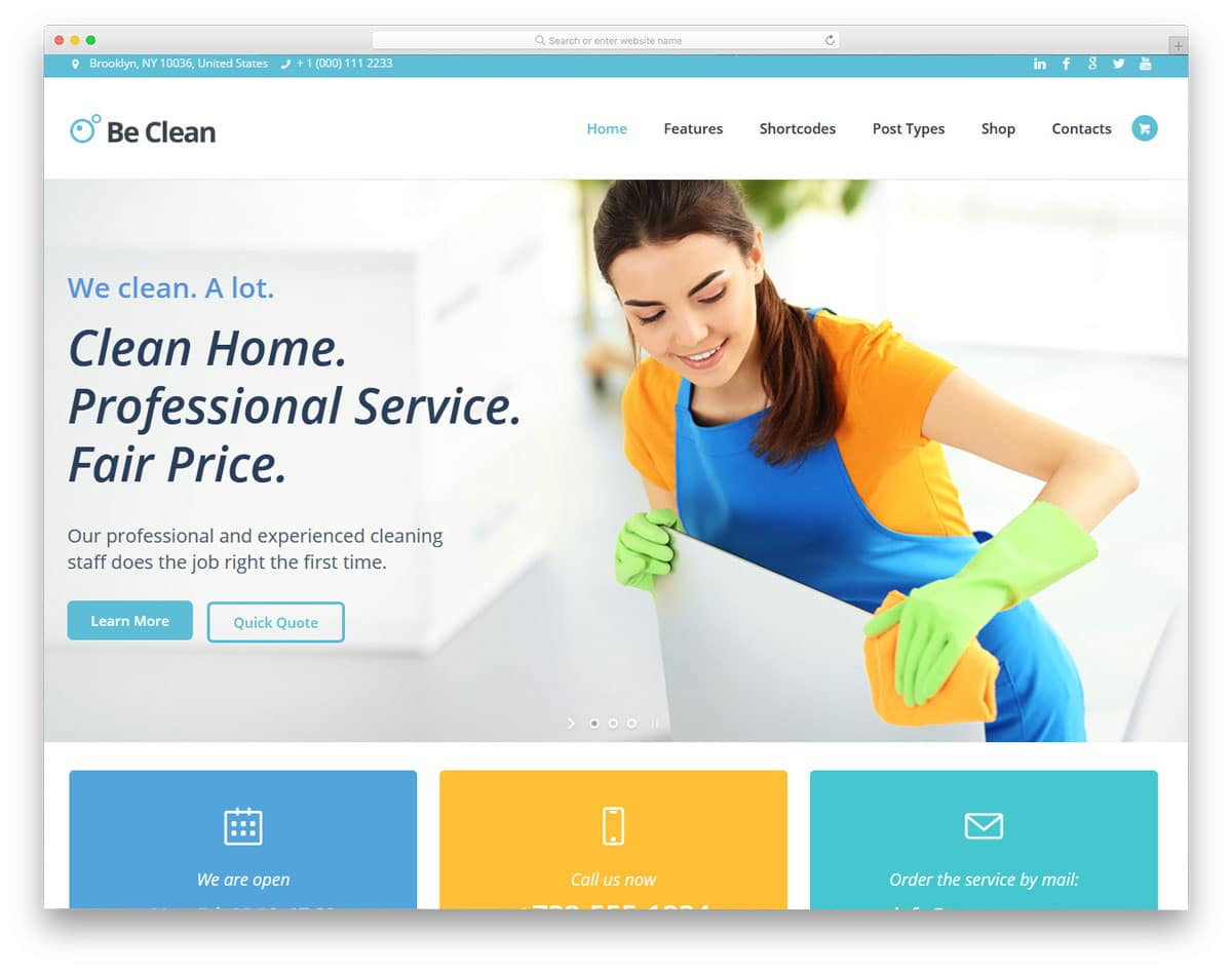 multipurpose service wordpress theme