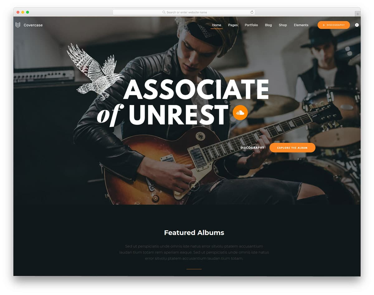 wordpress theme for creative professionals