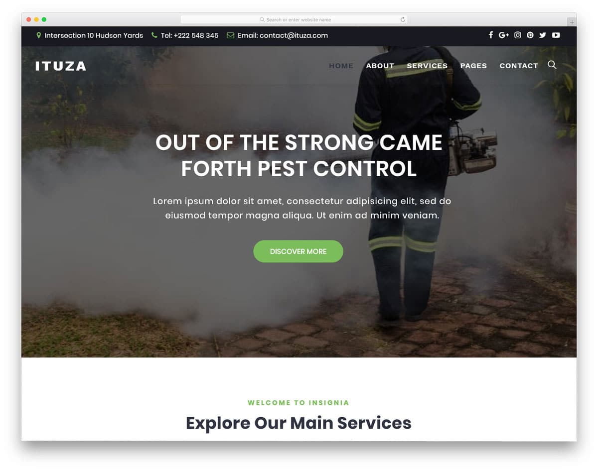 multipurpose service providing company wordpress theme