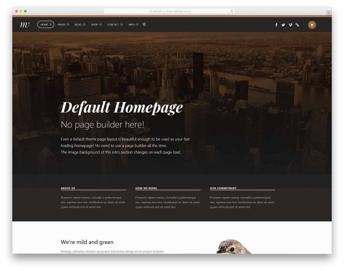 multipurpose accessible WordPress themes