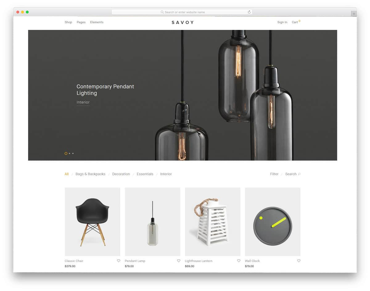 accessible WordPress themes for eCommerce store