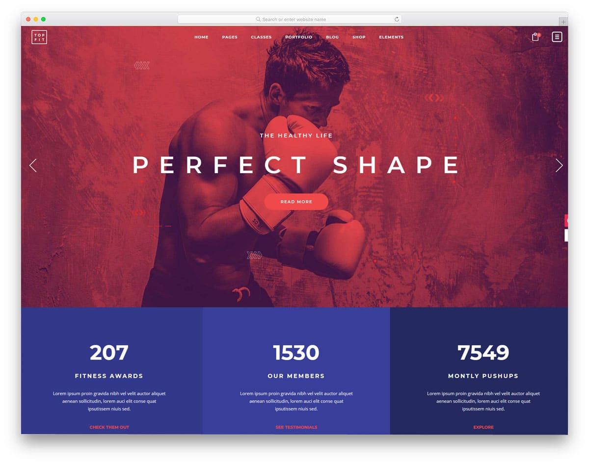 modern and interactive martial arts wordpress themes