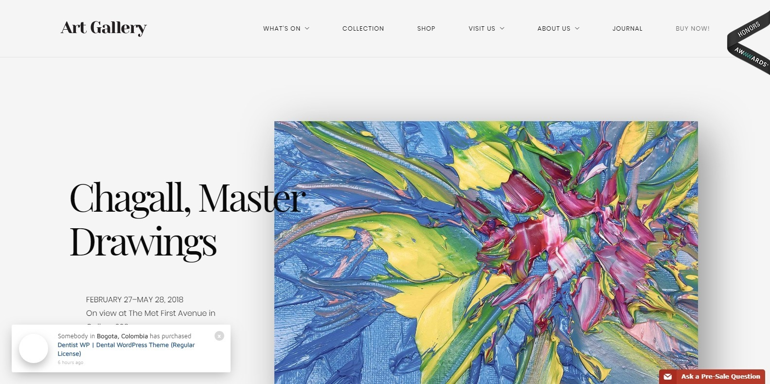 art-gallery-website-template