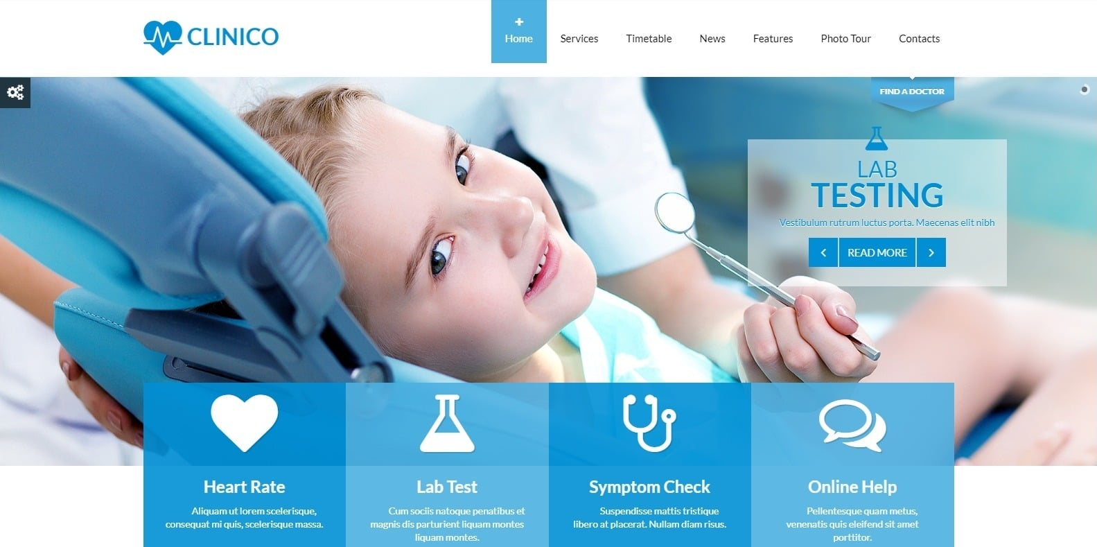clinico-medical-website-template