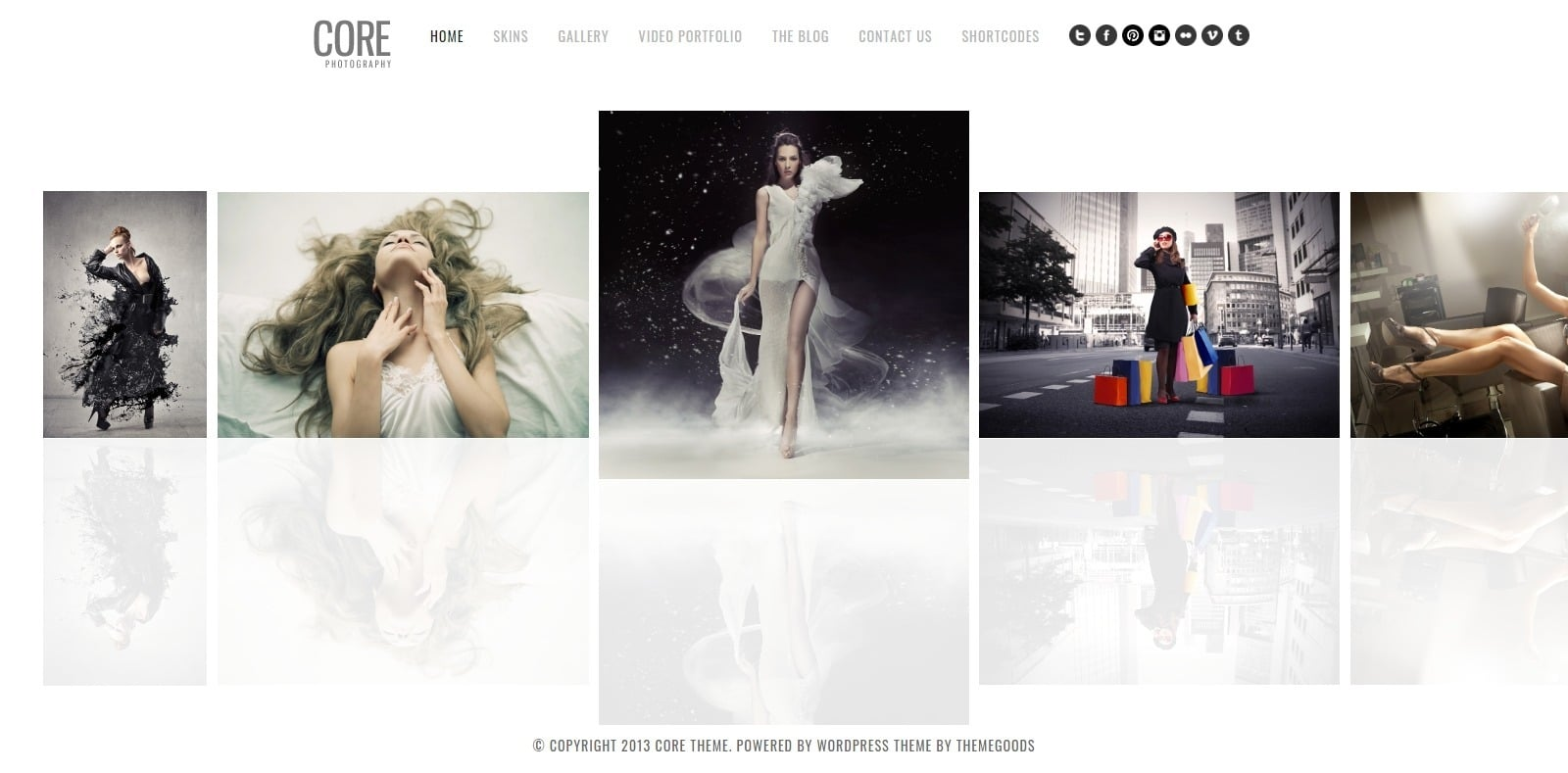 core-gallery-website-template