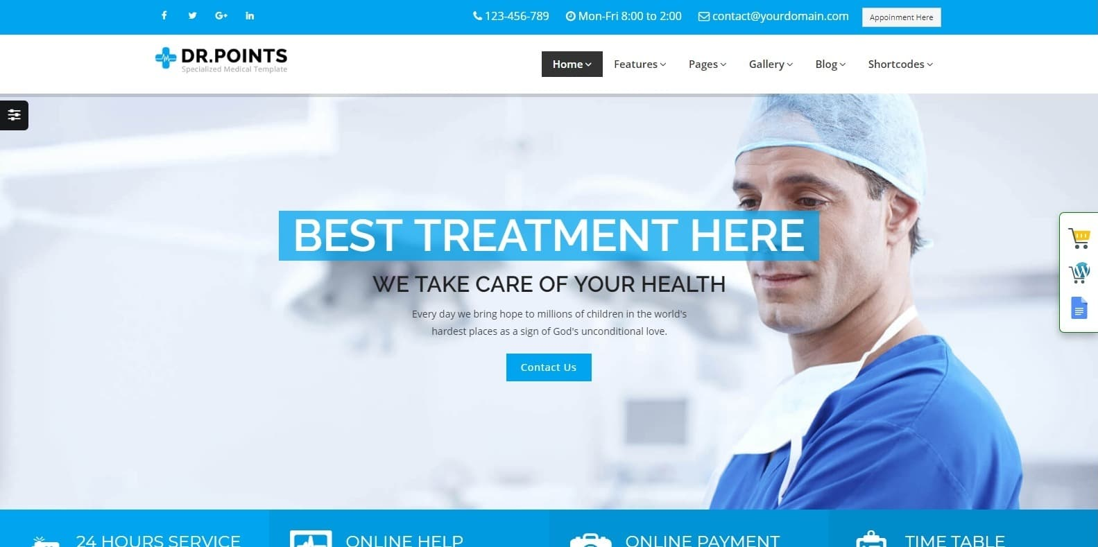 doctor-points-medical-website-template