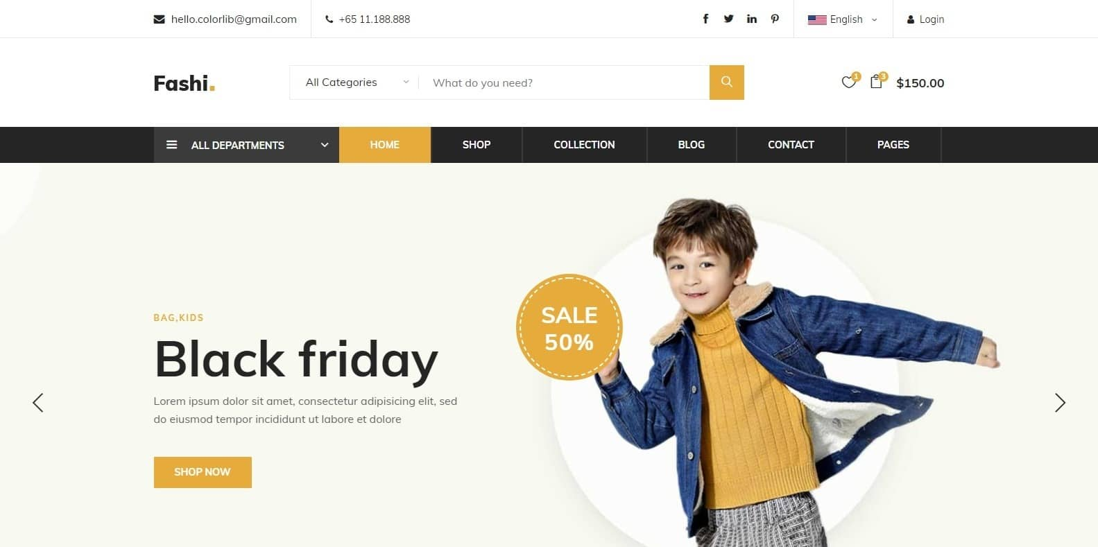 fashi-ecommerce-website-template