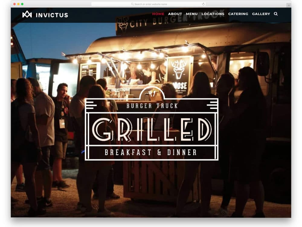 28 Food Truck Wordpress Themes To Serve Millenials Better 2021