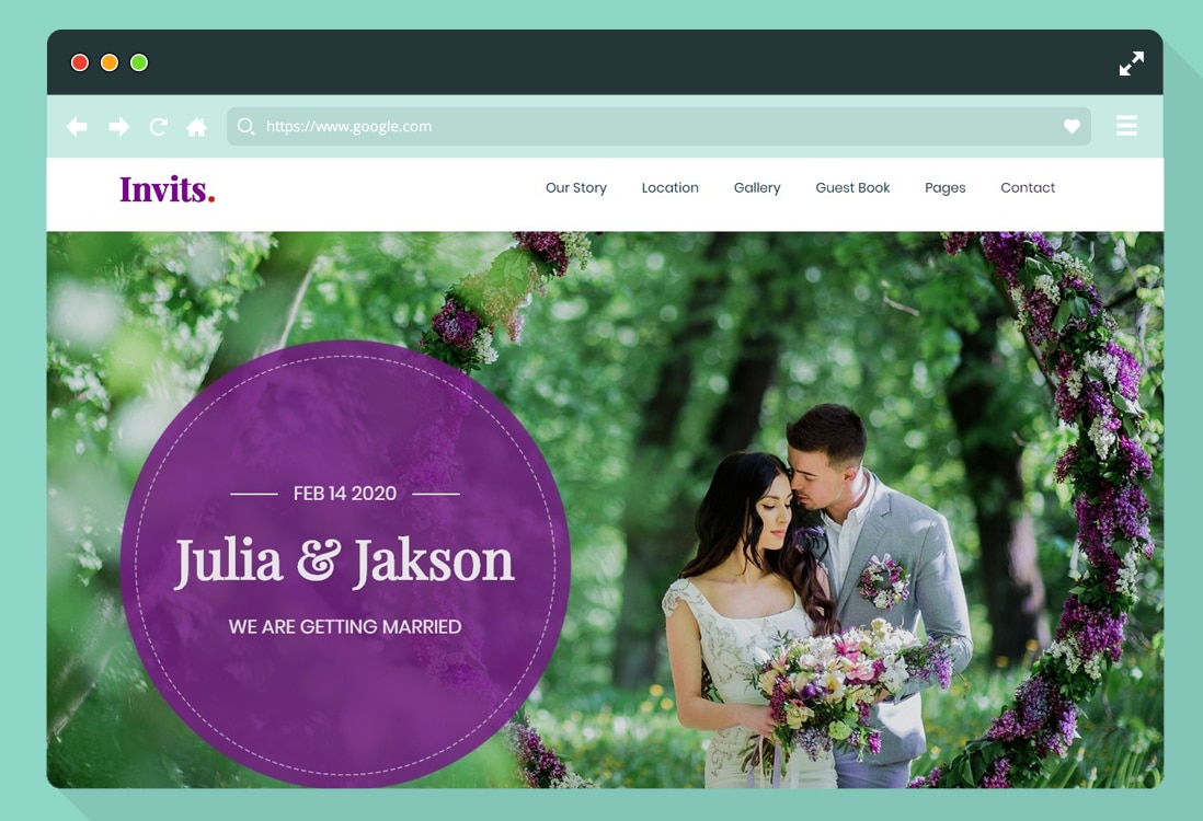 html-wedding-website-template