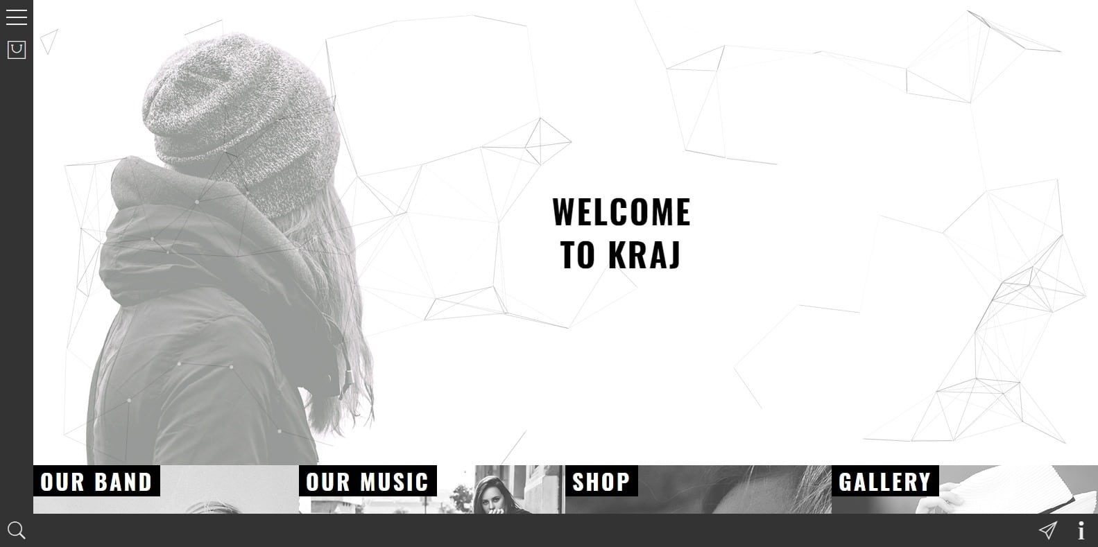 kraj-html-music-website-template