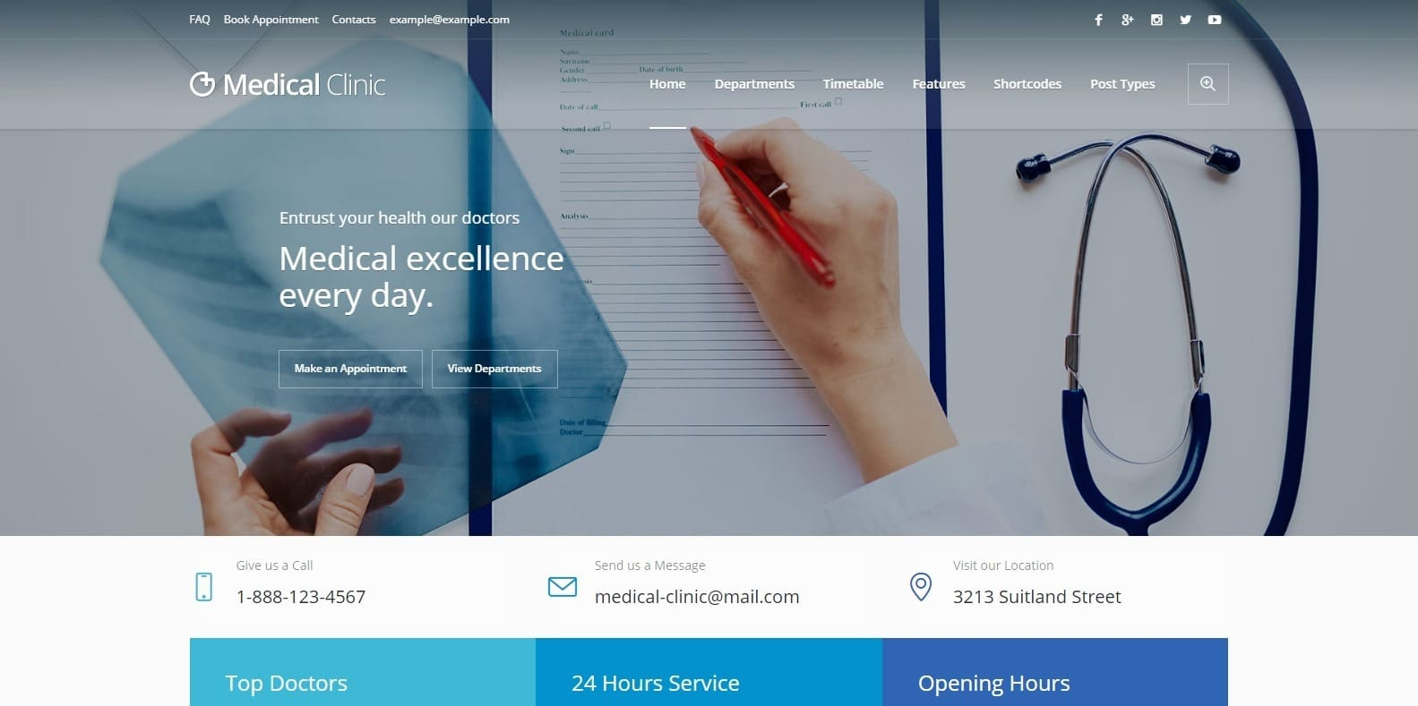 medical-clinic-medical-website-template