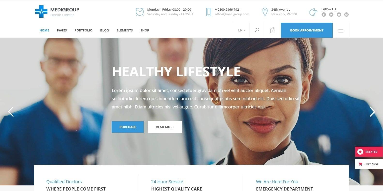 medigroup-medical-website-template