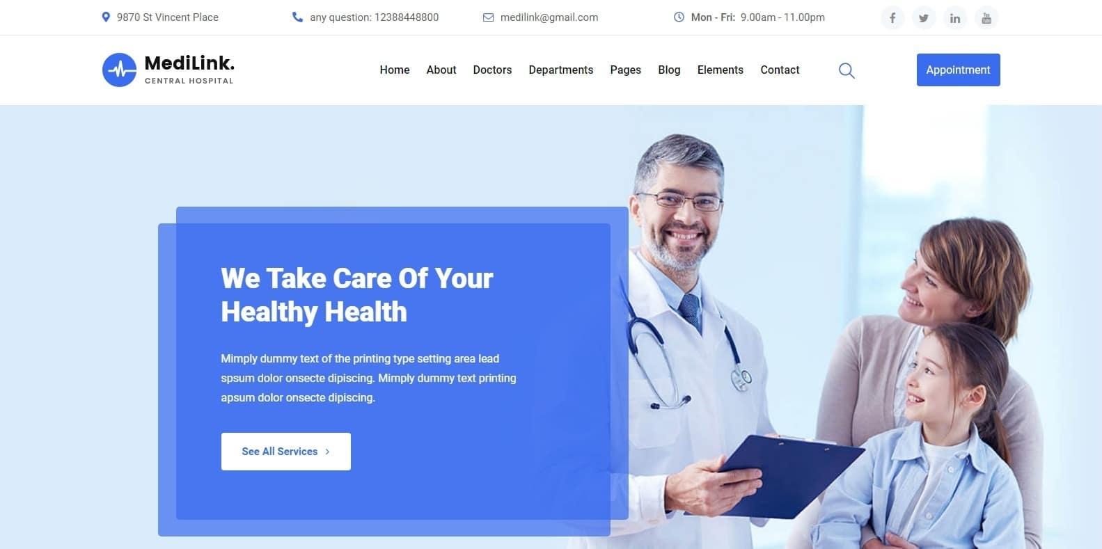 medilink-medical-website-template