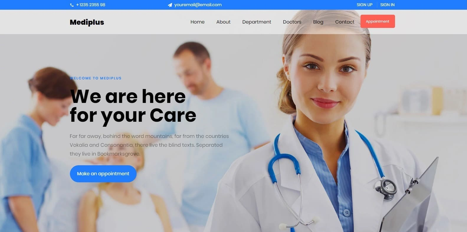 mediplus-best-website-templates