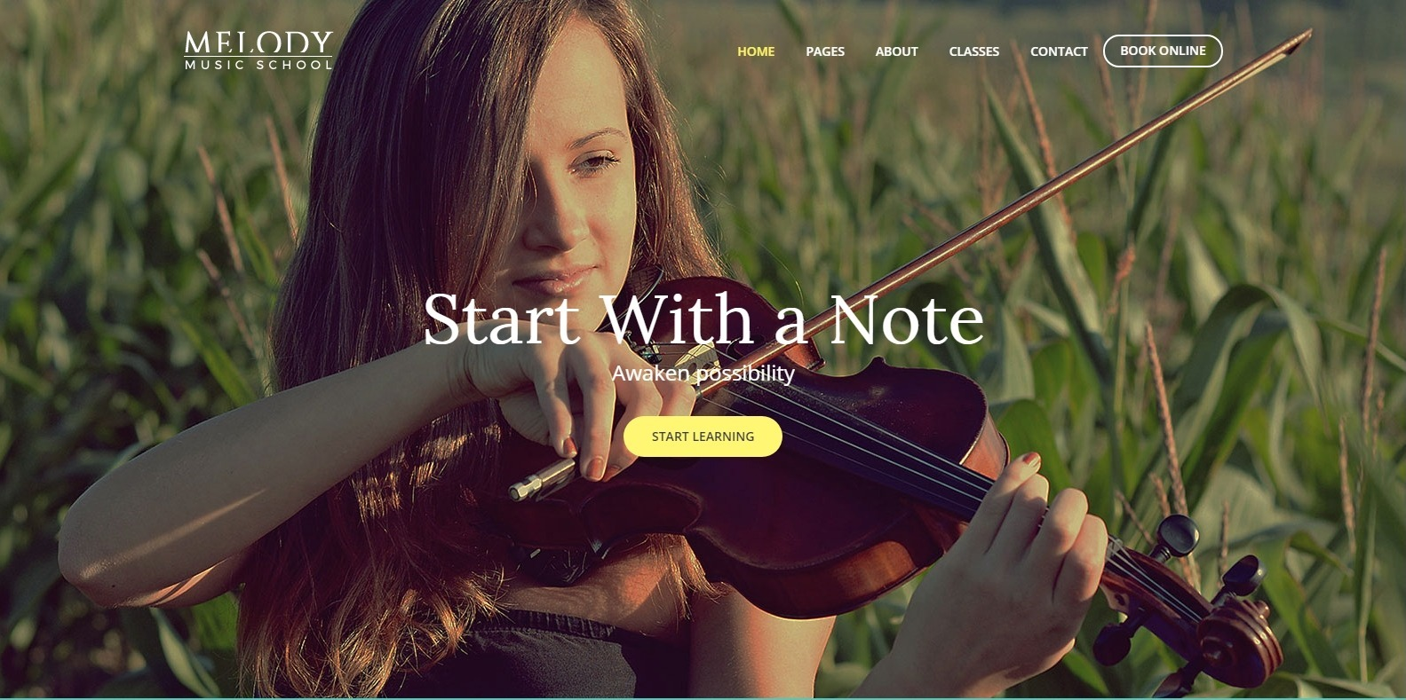melody-html-music-website-template