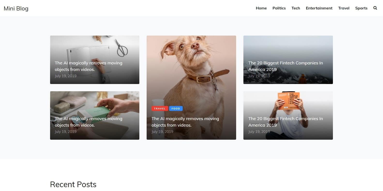 mini-blog-responsive-blogger-template