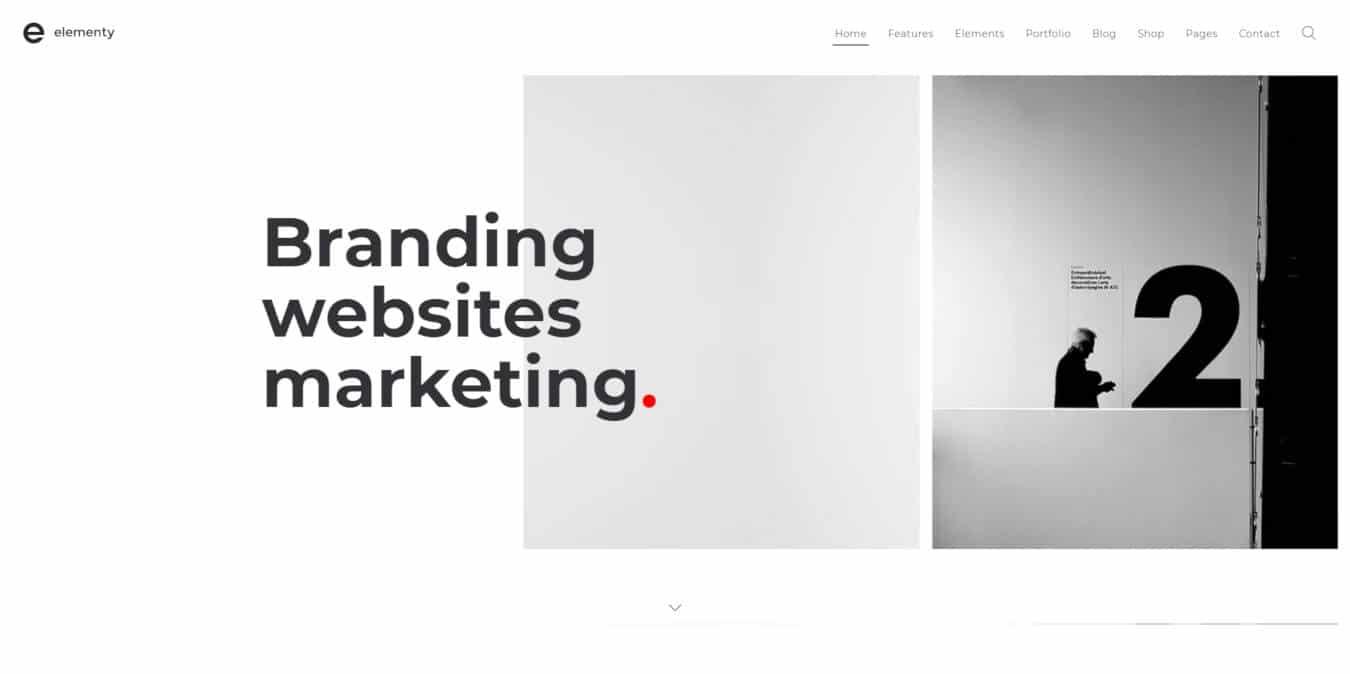 multipurpose website templates elementy
