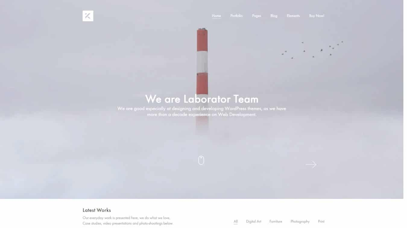 multipurpose website templates kalium
