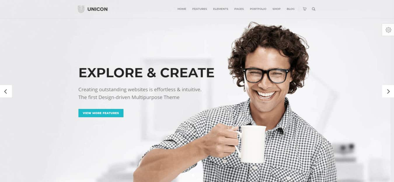 multipurpose website templates unicon