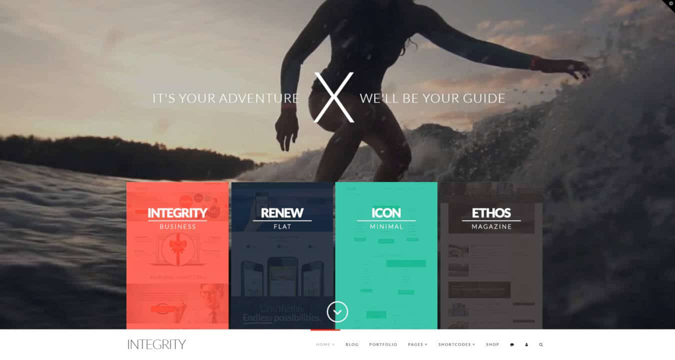 multipurpose website templates x theme