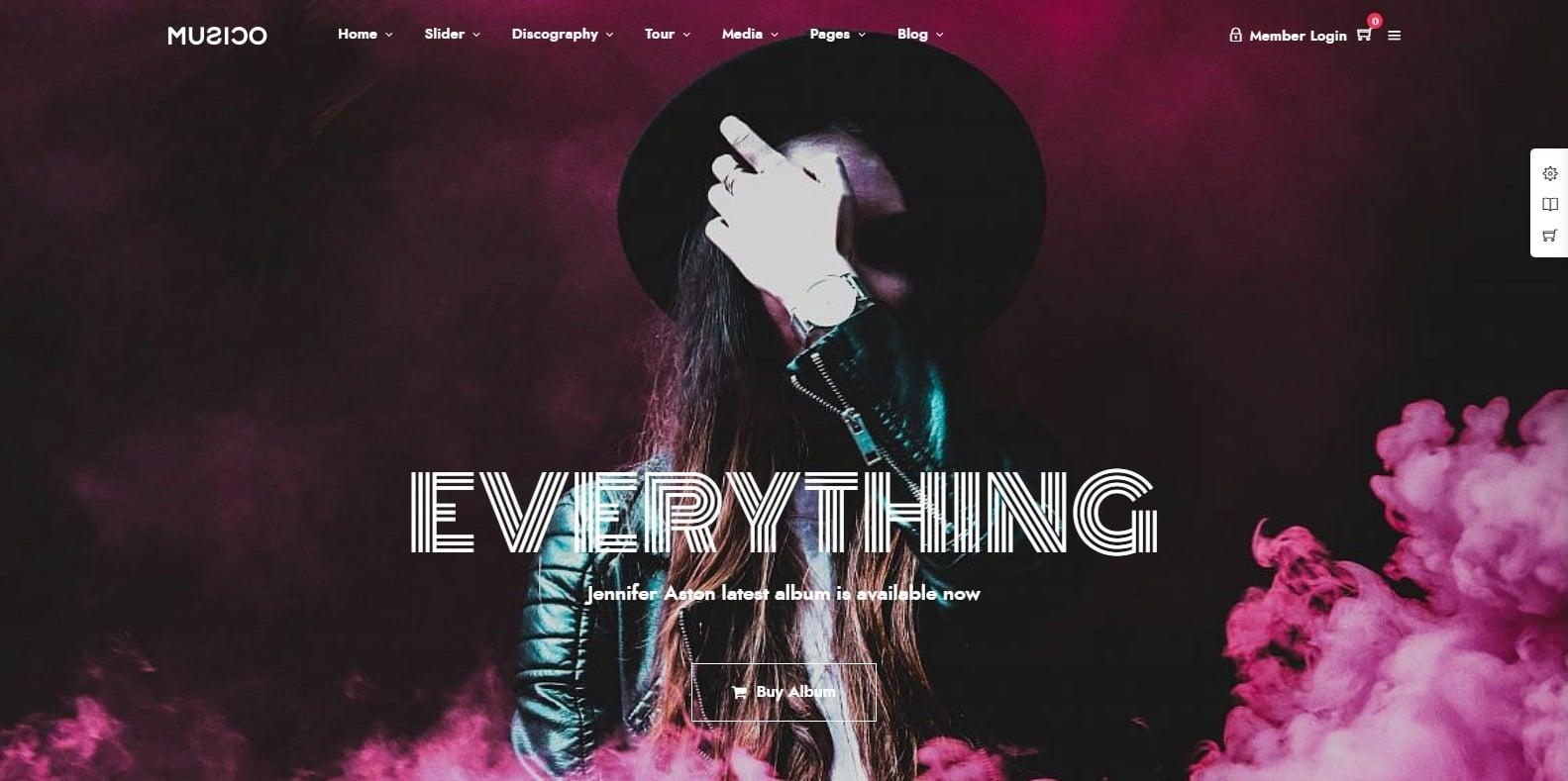 musico-html-music-website-template