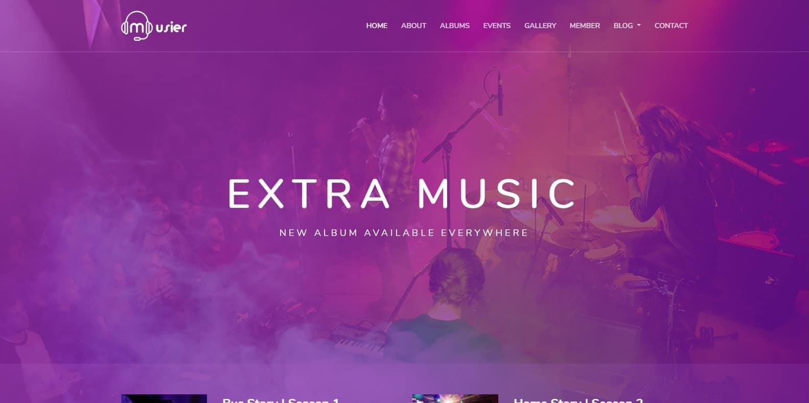 musier-html-music-website-template