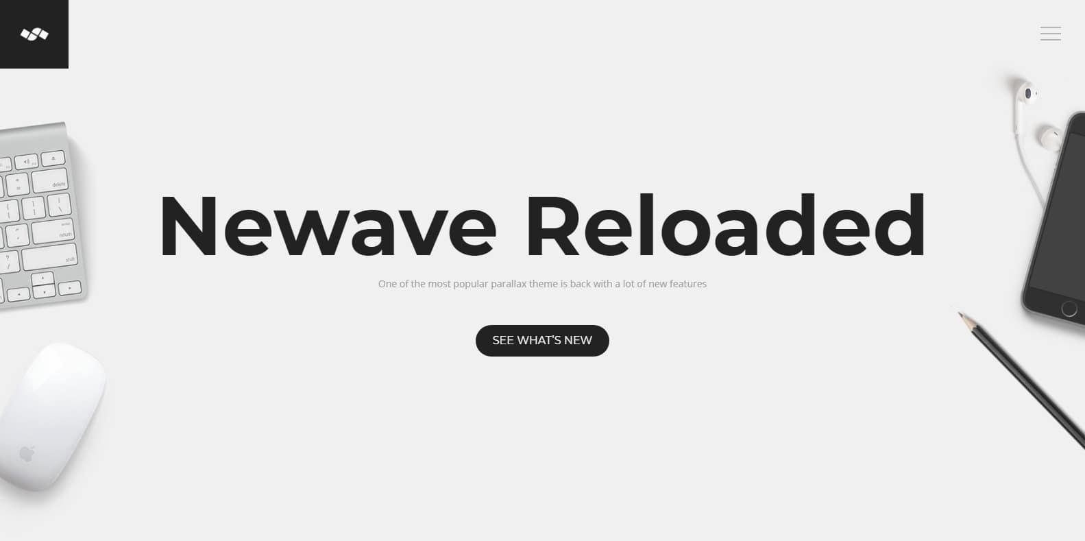 newave-parallax-website-template