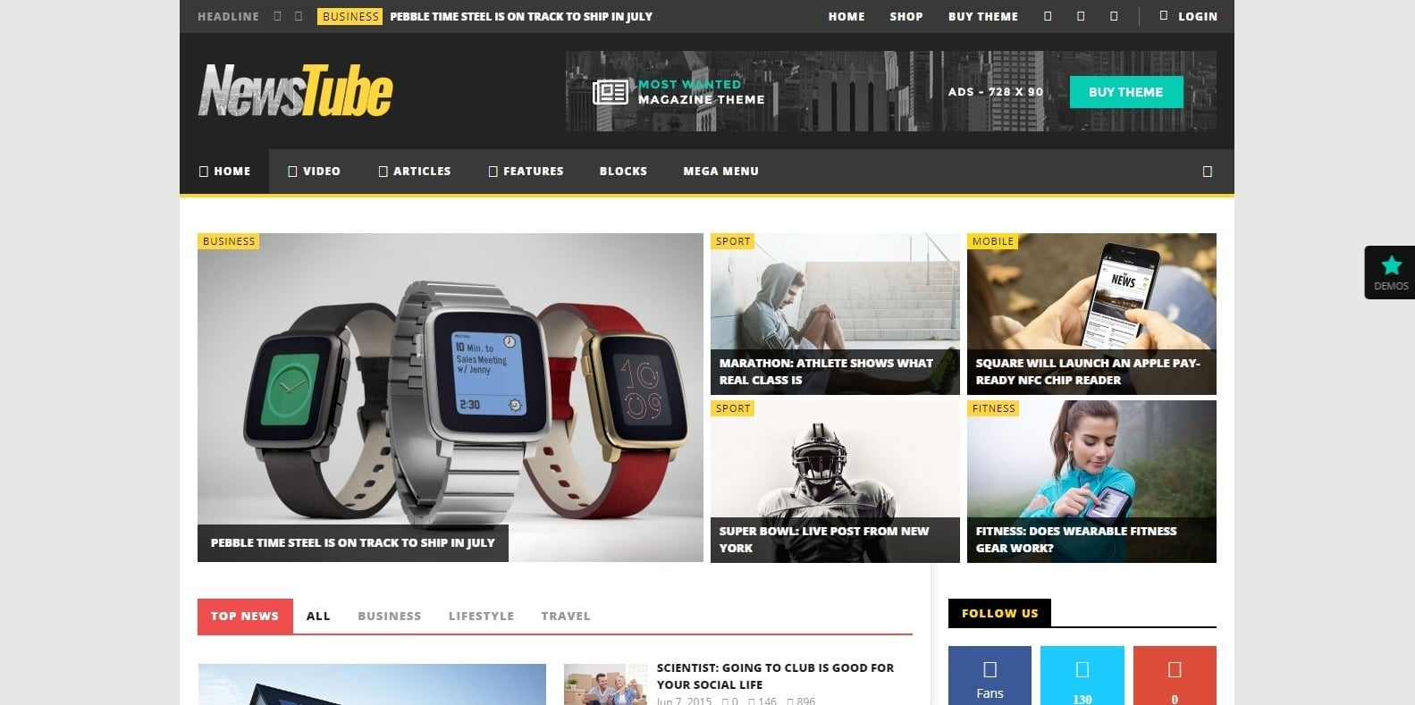 newstube-video-website-template