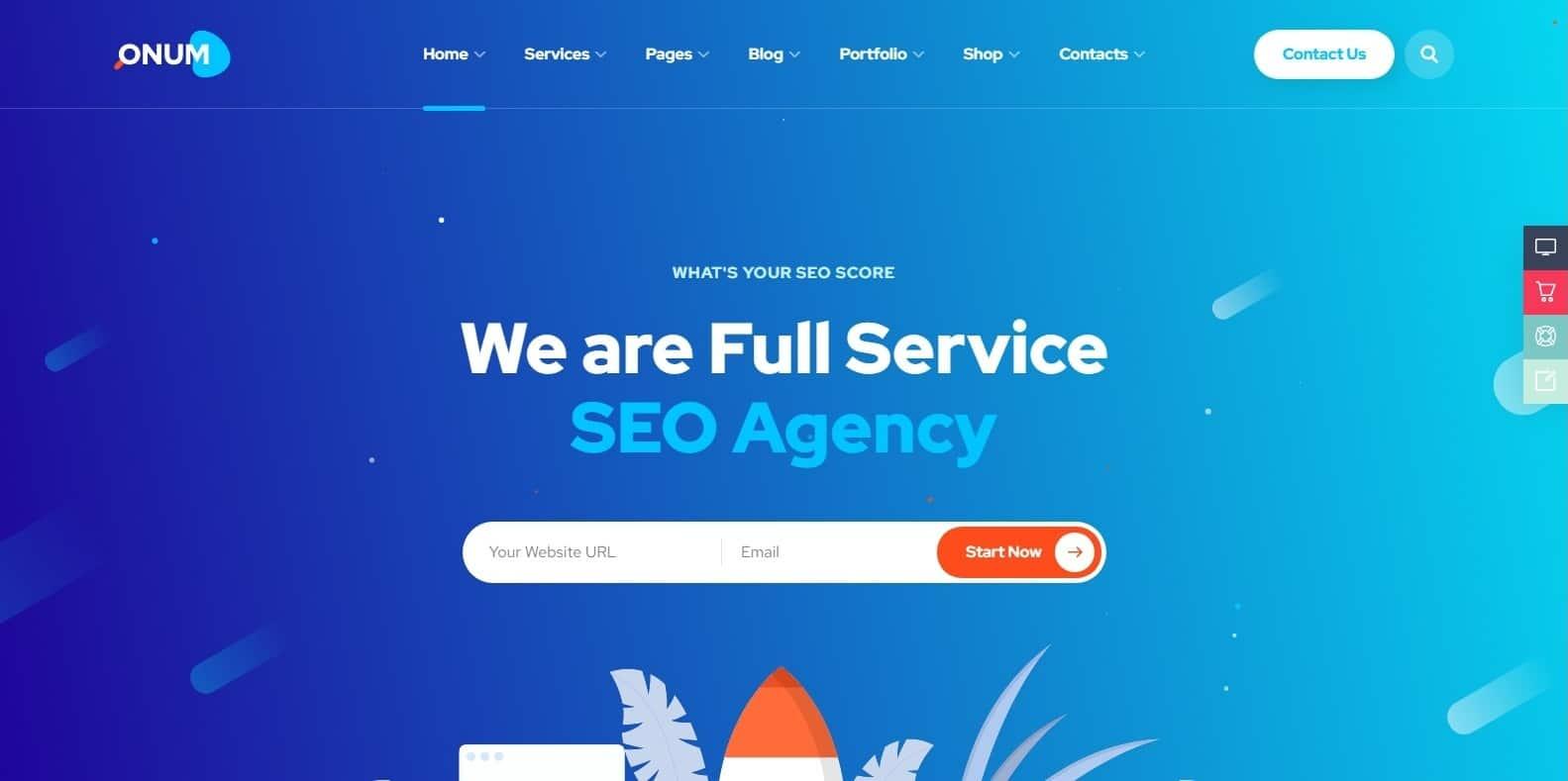 onum-marketing-website-template