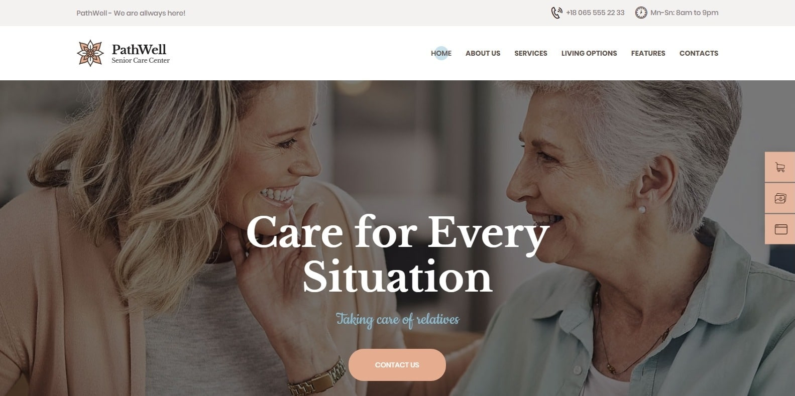 pathwell-medical-website-template