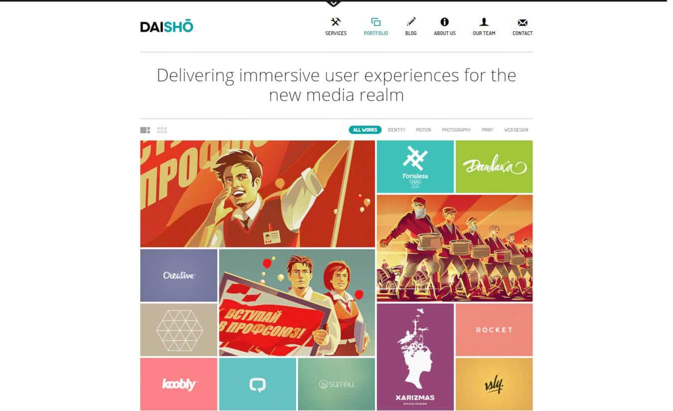 photo gallery website templates daisho