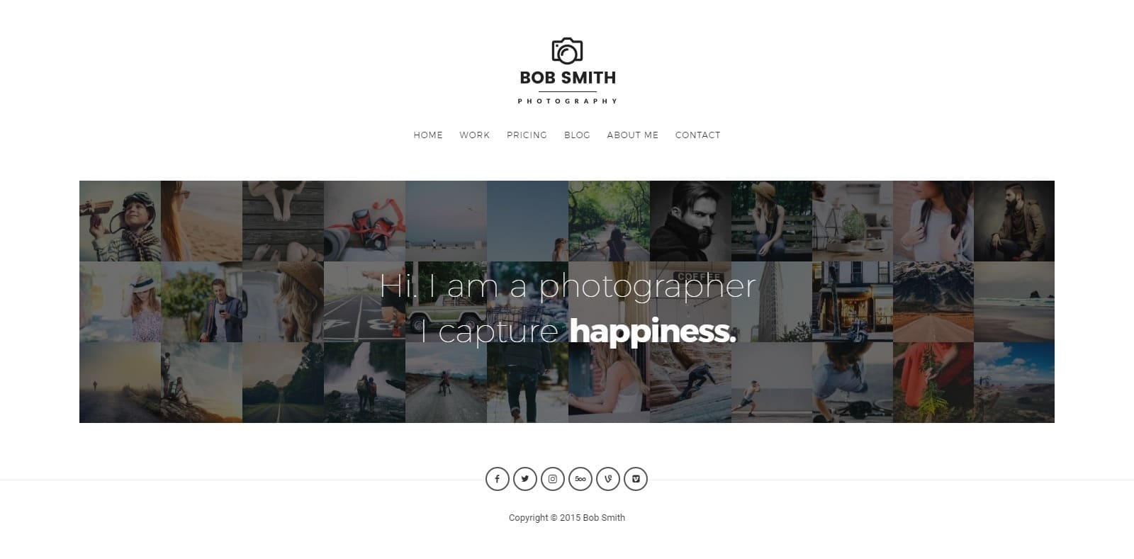photographer-gallery-website-template
