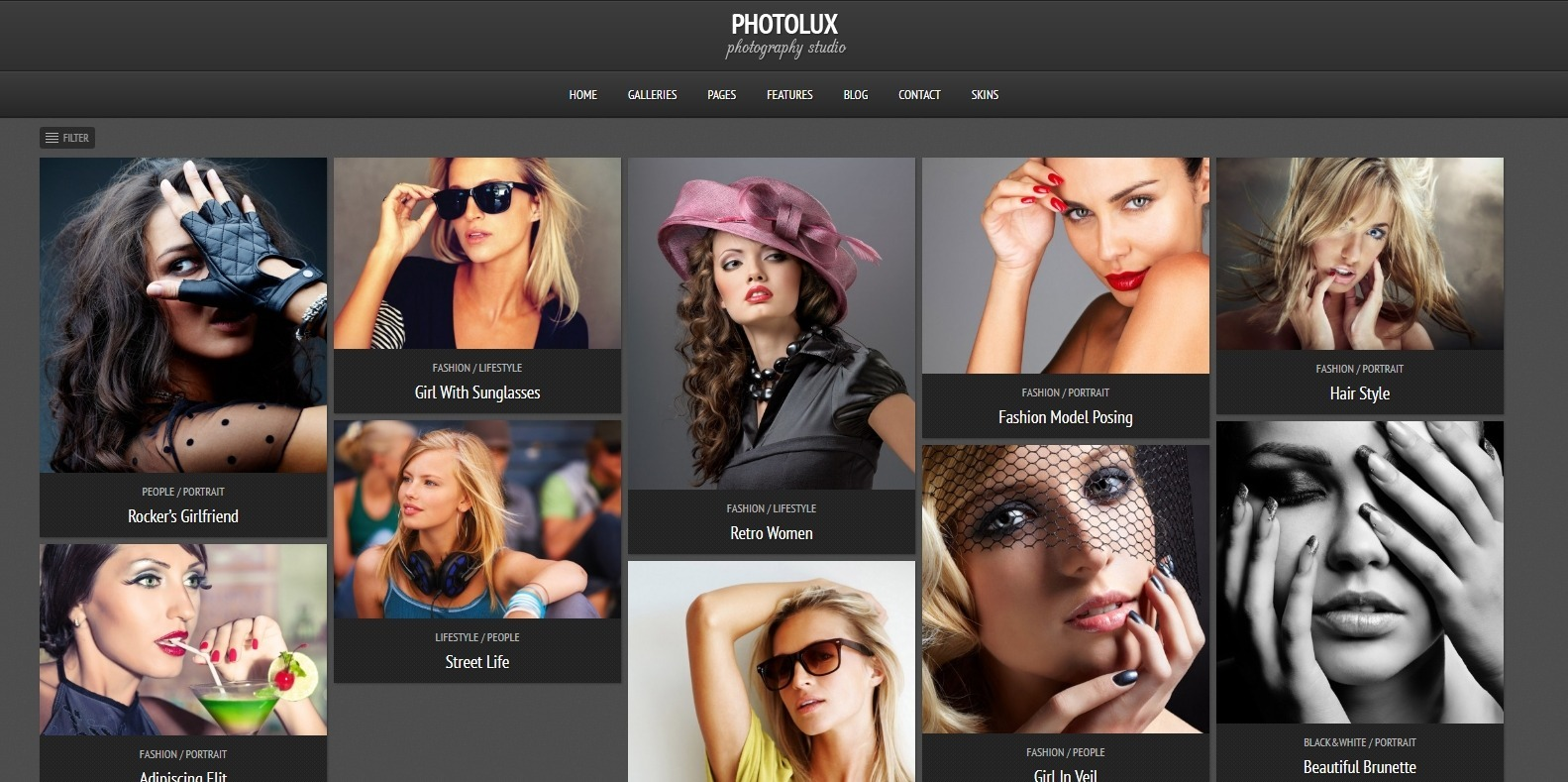 photolux-gallery-website-template