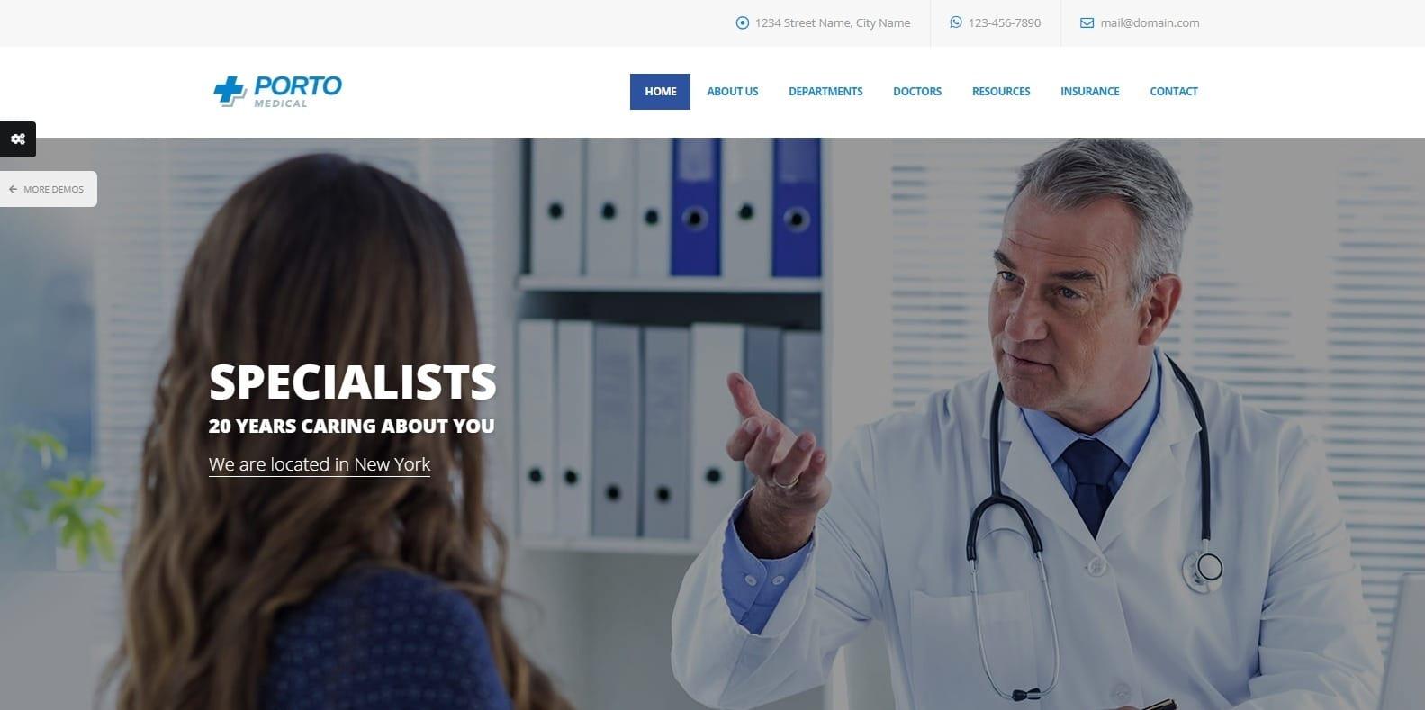 porto-medical-website-template