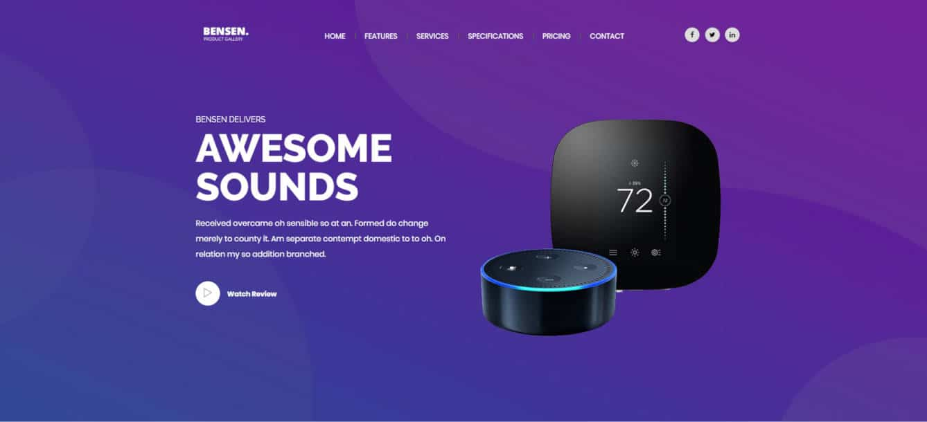 20+ Product Website Templates & WordPress Themes For