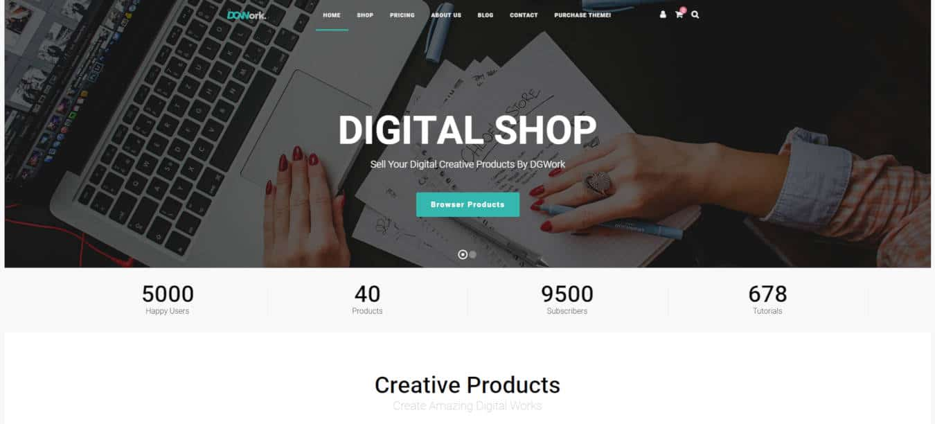 product website templates focux
