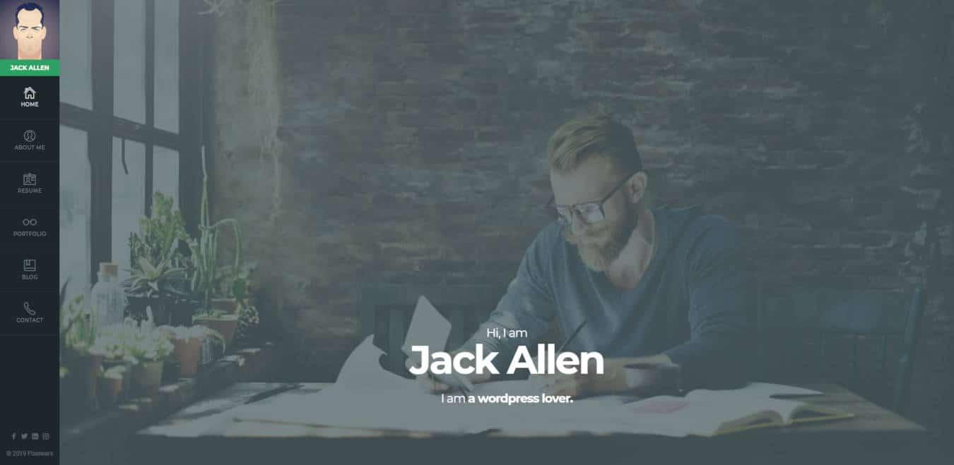 resume website templates empathy