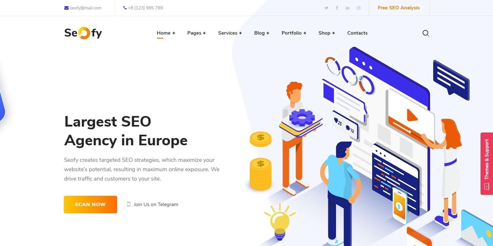 seofy-marketing-website-template