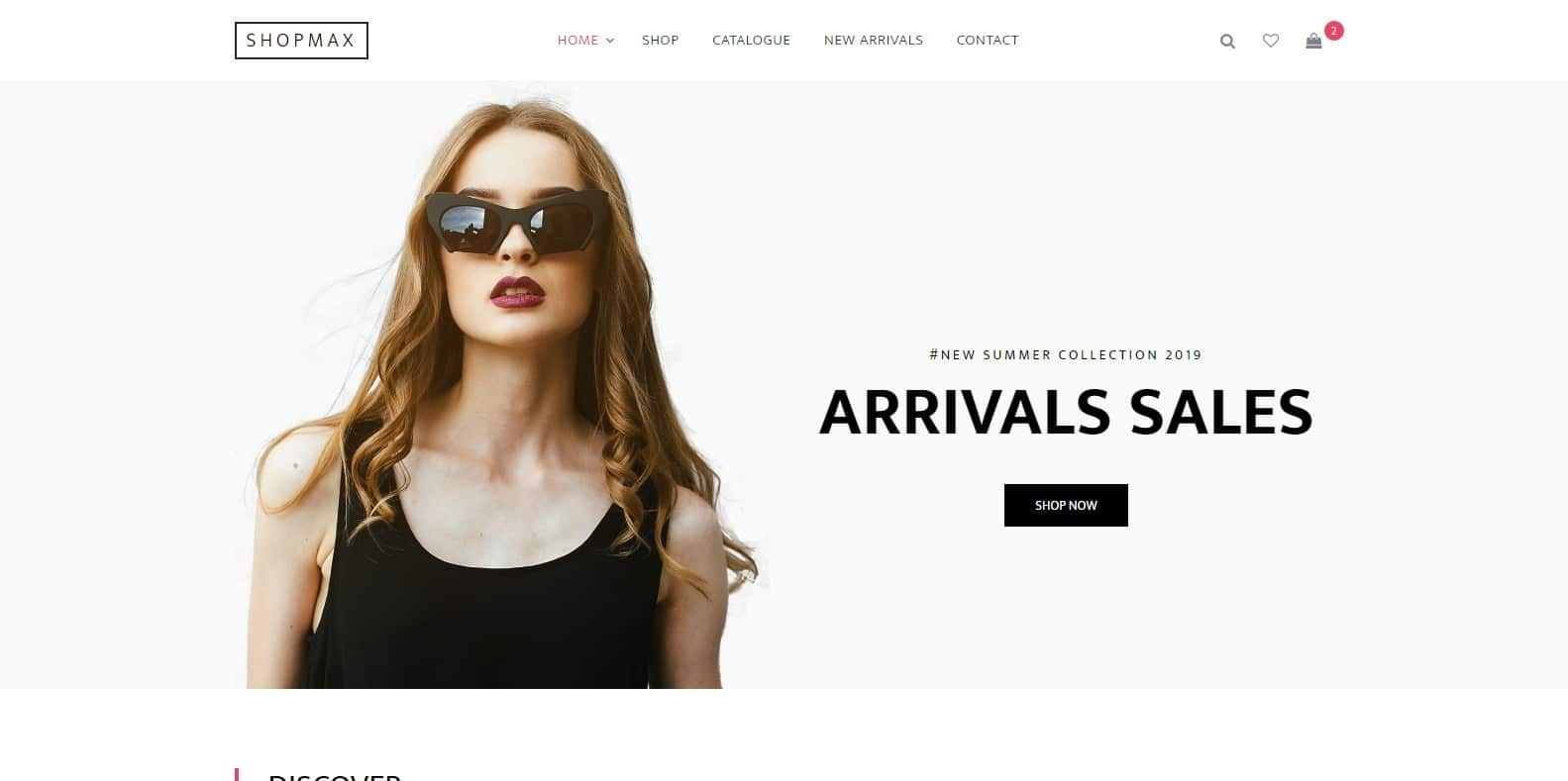 shopmax-ecommerce-website-template