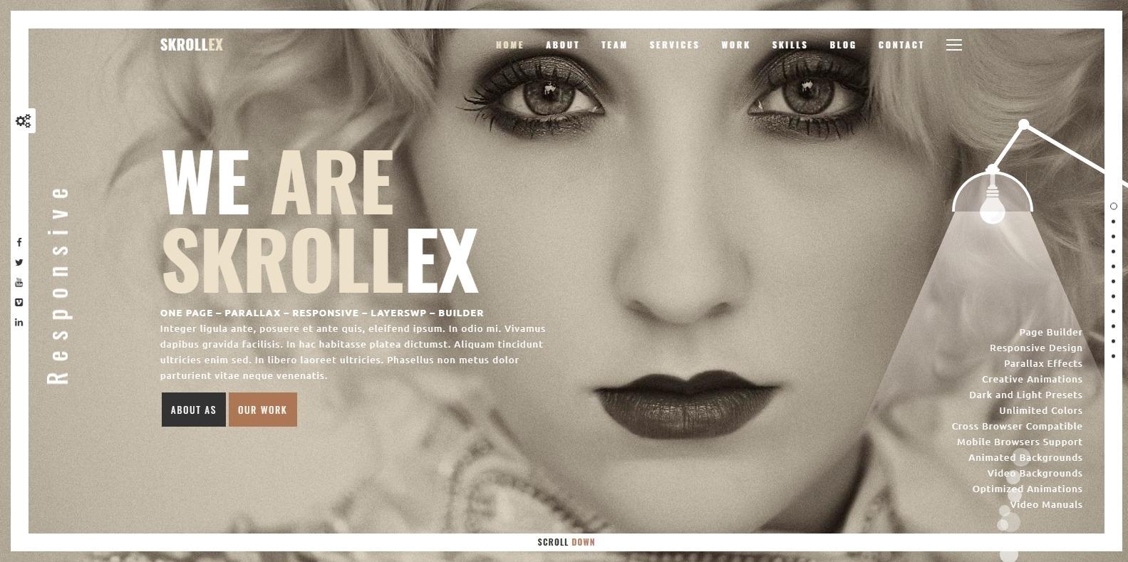 skrollex-parallax-website-template
