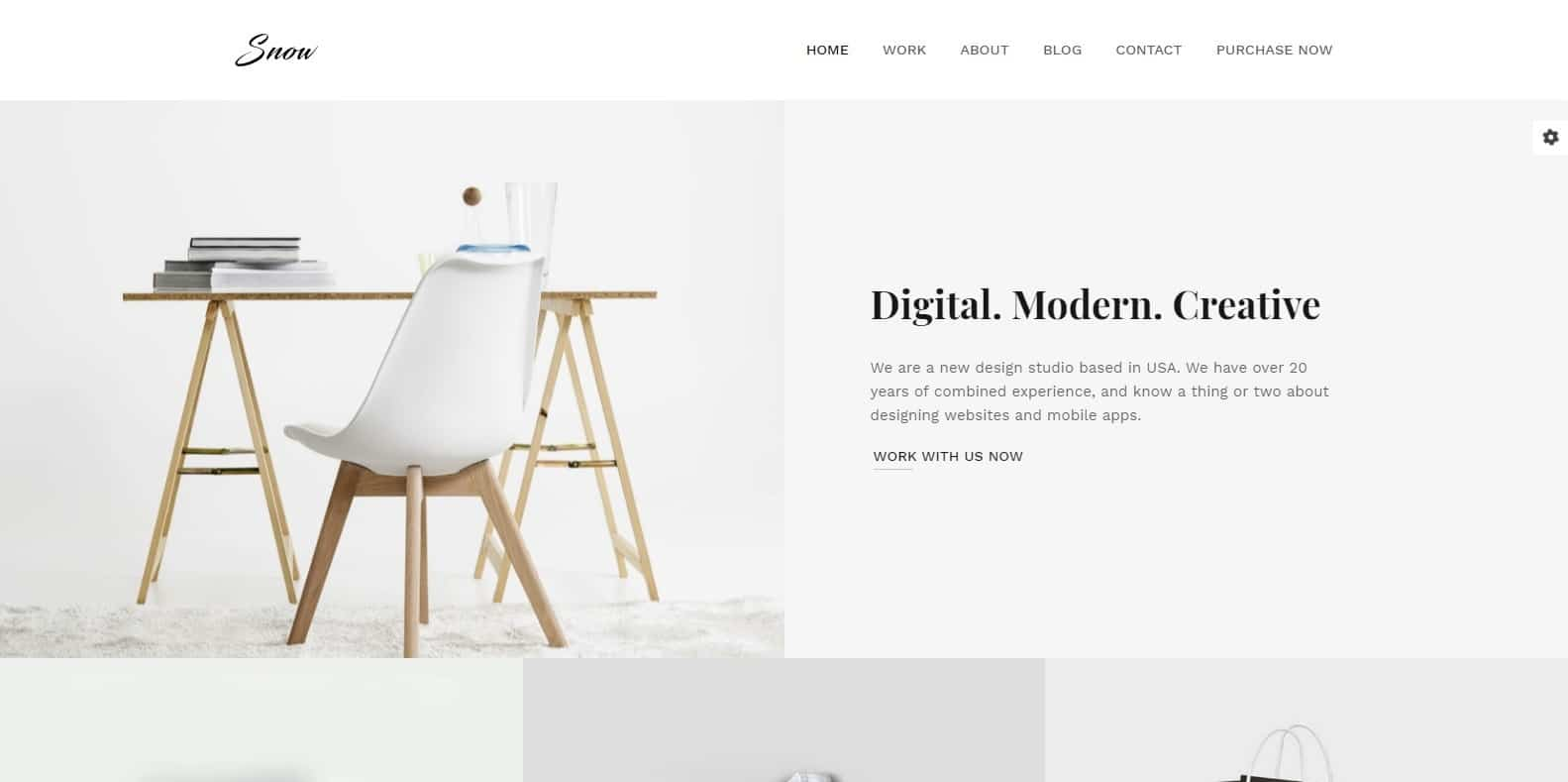 snow-gallery-website-template