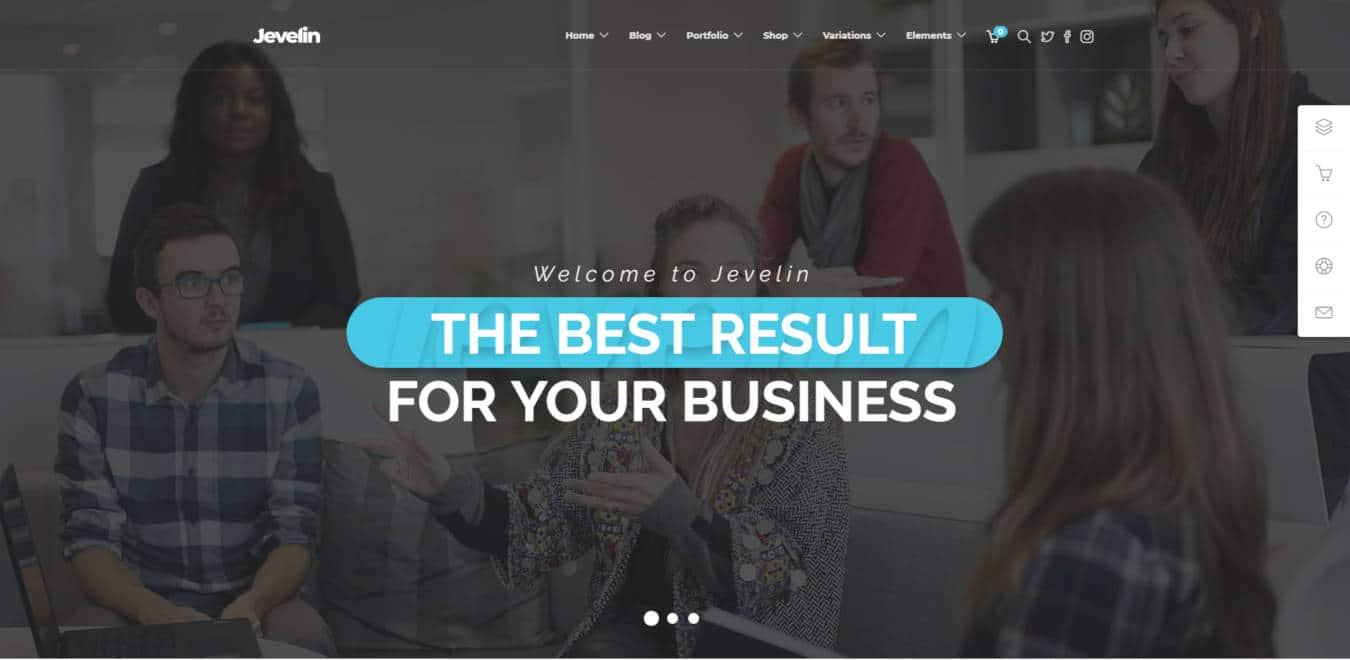 software company websites templates jevelin