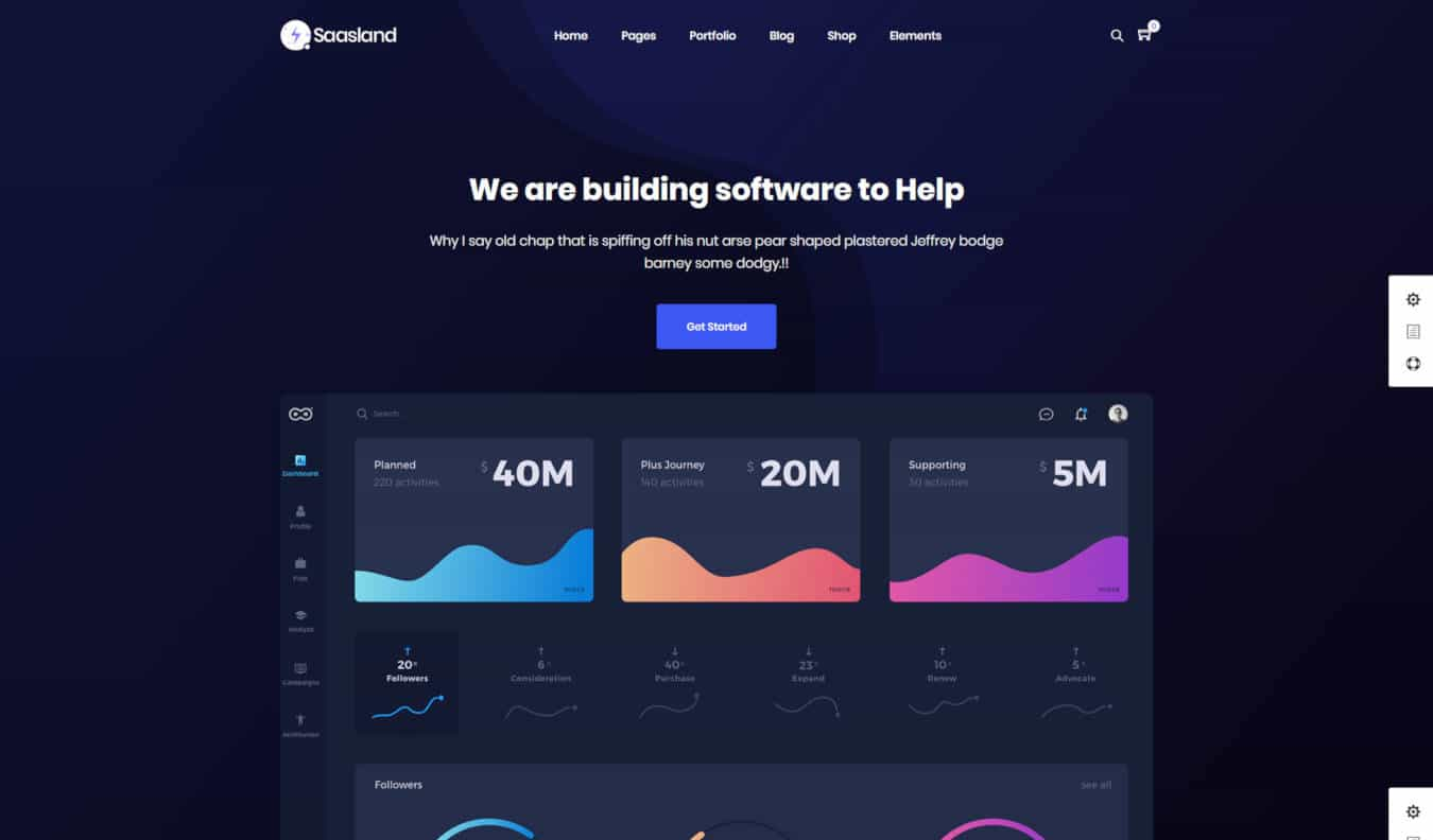 20 Awesome Software Company Website Template & WordPress Themes
