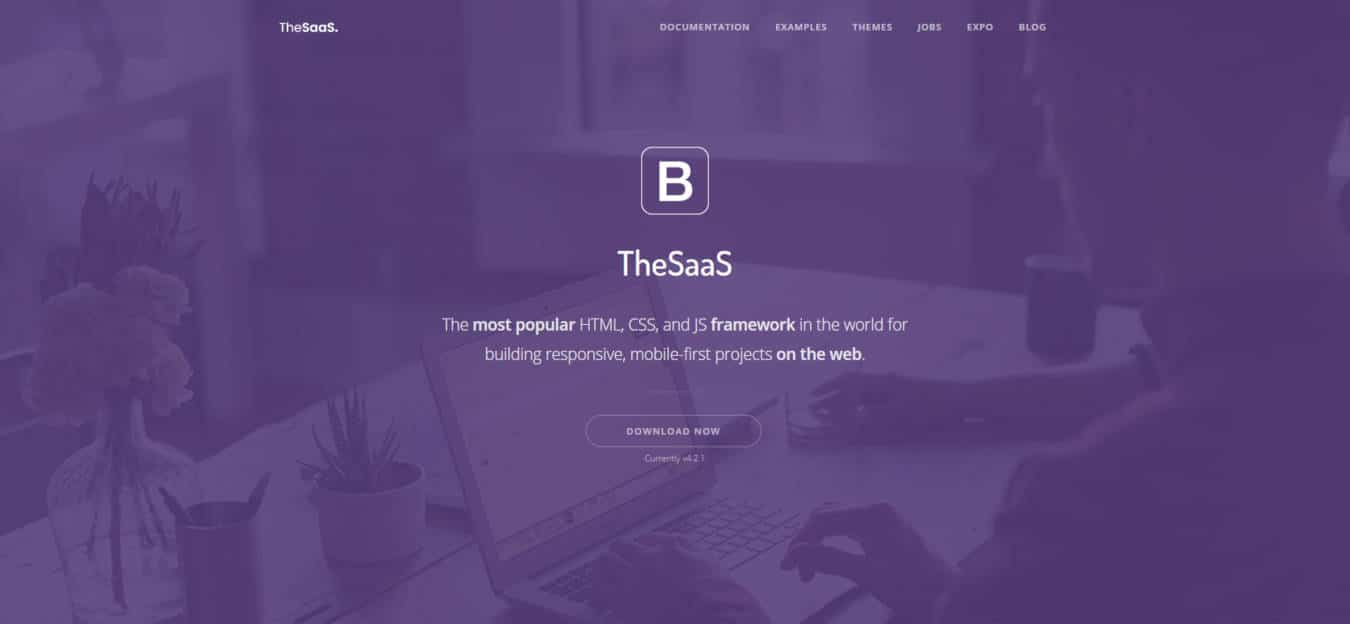 software company websites templates thesaas