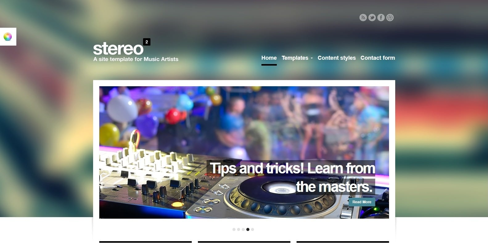 stereo-squared-html-music-website-template